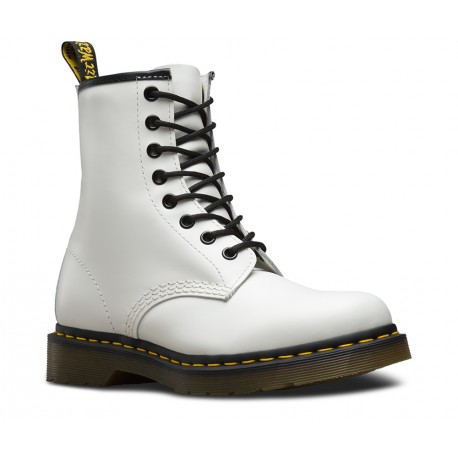Boot Dr. Martens 1460 Smooth - WHITE