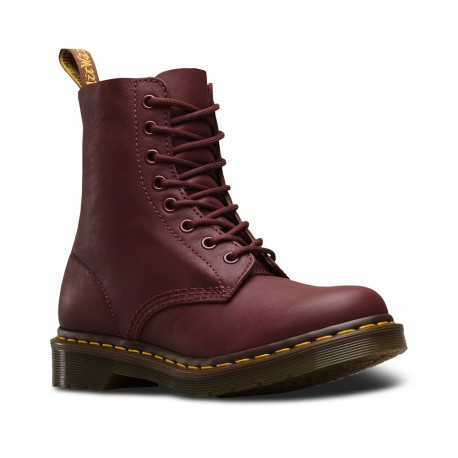 Boot Dr. Martens Pascal 8 Eye Virginia - CHERRY RED