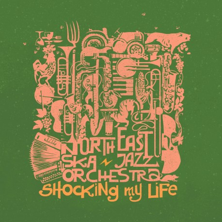 NORTH EAST SKA JAZZ ORCHESTRA - Shocking My Life - digital single