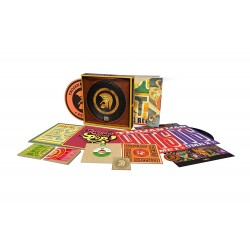 "VA - TROJAN 50: Celebrating 50 Years of Trojan Records - 6 CD+4 LP+2 7""+A2 Poster+Art Of The Album Cover+Slipmat+Patch+Adapter"