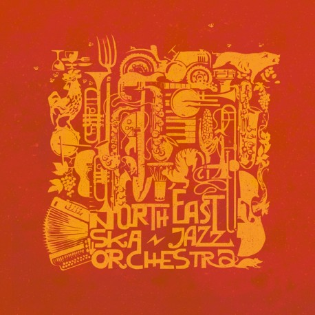 NORTH EAST SKA JAZZ ORCHESTRA - Stompin' & Rollin' - CD