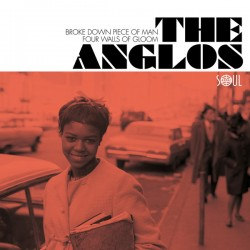 THE ANGLOS : Broke Down In Piece Of Man / Four Walls Of Gloom - 7""