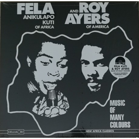 FELA AND ROY AYERS - Music Of Many Colours - LP