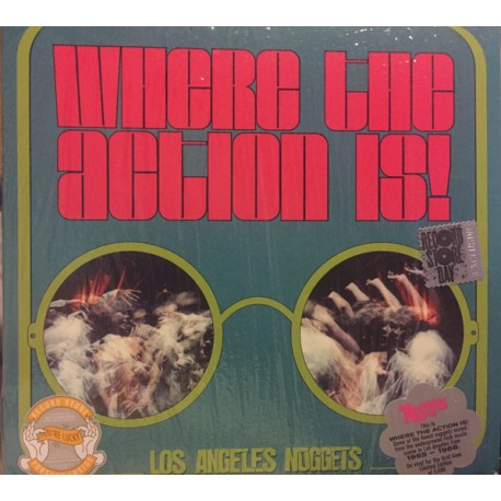 V/A - Where The Action Is : Los Angeles Nuggets - 2LP
