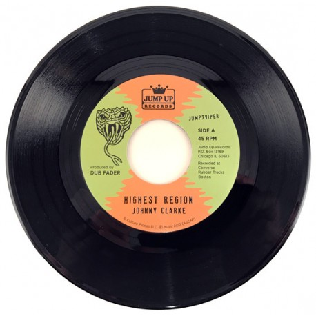 JOHNNY CLARKE / Highest Region - FLYING VIPERS /Highest Version - 7""