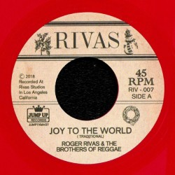 ROGER RIVAS & THE BROTHERS OF REGGAE - Winter Wonderland / Joy To The World - 7""
