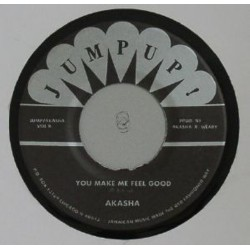 AKASHA - Eye For An Eye / You Make Me Feel Good - 7""