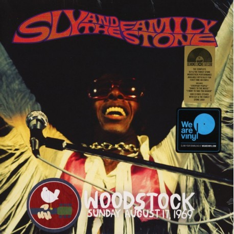 SLY AND THE FAMILY STONE - Woodstock Sunday August 17, 1969 - 2xLP