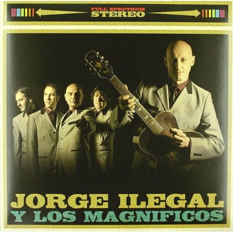 JORGE ILEGALES Y LOS MAGNIFICOS - ST - LP