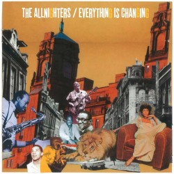 THE ALLNIGHTERS - Everything Is Changing - LP+CD