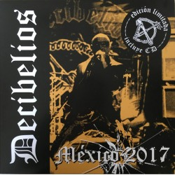 DECIBELIOS - Mexico 2017 - LP+CD