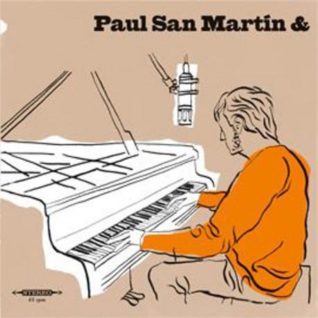 "PAUL SAN MARTIN & ROMAIN GRATALON - San Martin Boogie / I Just Called - 7"""