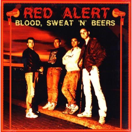 RED ALERT - Blood , Sweet 'N' Beers - LP