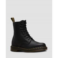 Bota Dr. Martens 1460 Black Greasy Smooth - NEGRO GRASA