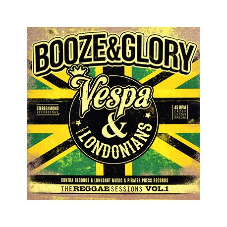 BOOZE & GLORY - The Reggae Sessions Vol.1 - 3x7""