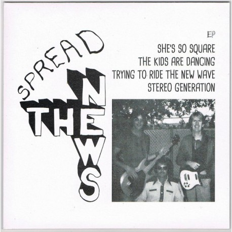 """THE NEWS - The Kids Are Dancing  - 7"""""""