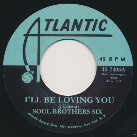 SOUL BROTHERS / I'll Be Loving You - Esther Phillips / Just say Goodbye - 7""