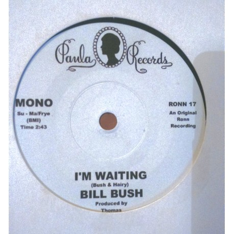 THE MONTCLAIRS - Hung Up On Your Love -  BILL BUSH / I'm Waiting - 7""