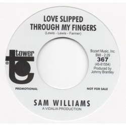 SAM WILLIAMS - Let's Talk it Over / Love Slipped Trhough My Fingers - 7""