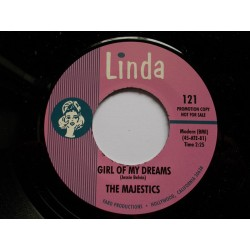 THE MAJESTICS - Girl Of My Dreams / (I Love Her So Much) It Hurts Me - 7""