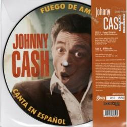 """JOHNNY CASH - Fuego De Amor / El Matador - 7"""""""