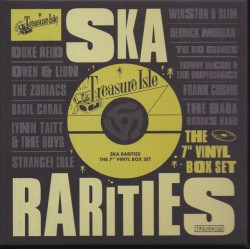 "VA - TREASURE ISLAND SKA RARITIES : The 7"" Vinyl Box Set - 10 x 7"""