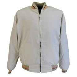 Monkey  Jacket - BEIGE With Orange And Black