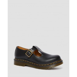 Zapato Dr. Martens POLLEY T BAR Smooth - NEGRO
