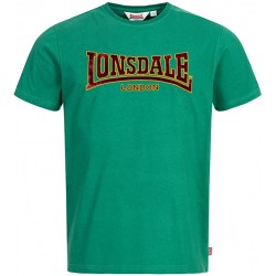 LONSDALE T-Shirt Classic Bottle Green