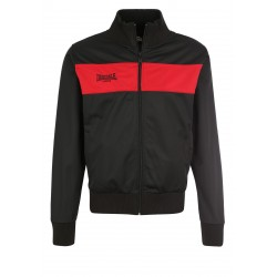 LONSDALE Men Tricot Jacket Alnwick - BLACK / Red