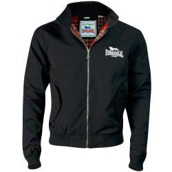 Classic LONSDALE Harrington Jacket - BLACK