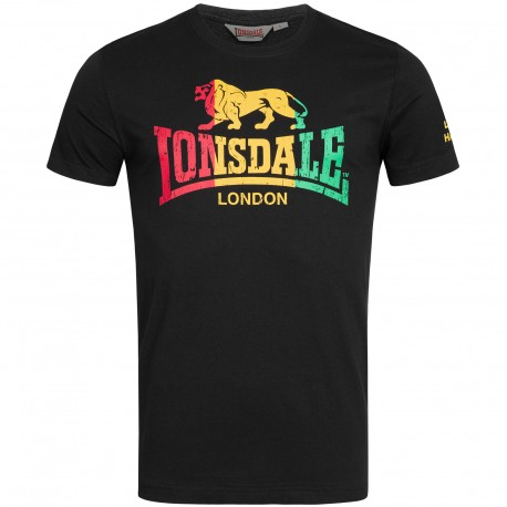 Camiseta Freedom LONSDALE Negra