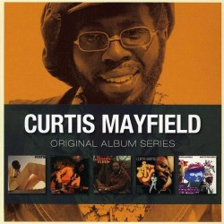 CURTIS MAYFIELD - Original Album Series - 5xCD