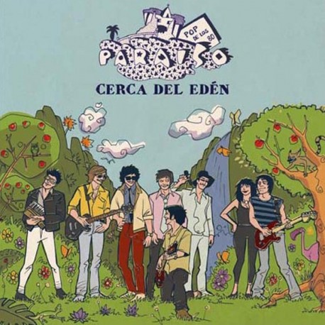 PARAISO - Cerca Del Eden - LP-3CD