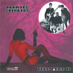 AGENTES SECRETOS - Todo Para Ti - LP+CD+Fanzine