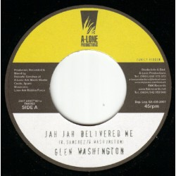 GLEN WASHINGTON / RANKING FORREST - Jah Jah Delivered Me / Heads Of Government - 7""
