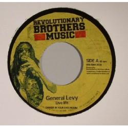 "GENERAL LEVY - Live Life / Instrumental - 7"""