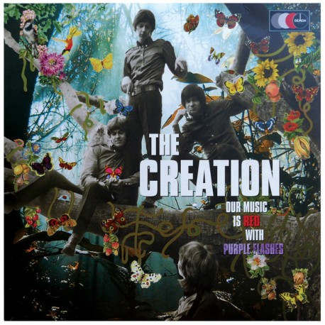 THE CREATION - Our Music Is Red with Purple Flashes - 2xLP