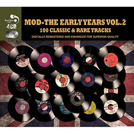 V/A - MOD The Early Years : 112 Classic And Rare Tracks - 4xCD