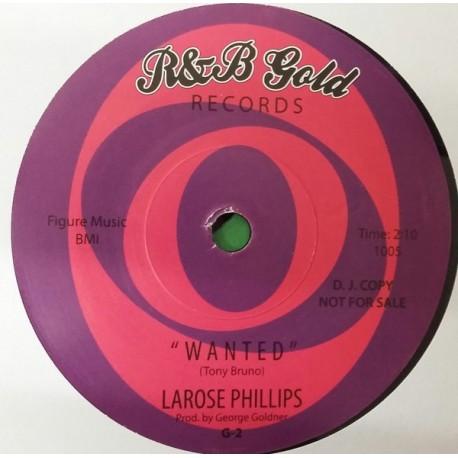"""WILLIE JONES / LAROSE PHILLIPS - Where's My Money / Wanted - 7"""""""