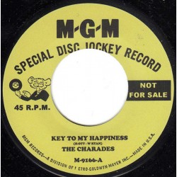 """THE CHARADES / CAROL AND GERRY - Key To My Hapiness / On Your Heartache Looks Good - 7"""""""