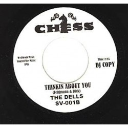 """THE VALENTINOS / THE DELLS - Sweeter Than The Day before / Thinkin About You - 7"""""""