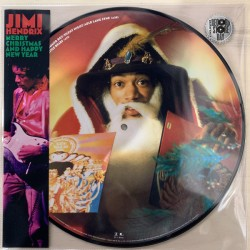 JIMMI HENDRIX - Merry Christmas And happy New Year - LP (Picture )