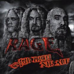 RAGE - Give Dich Nie Auf -  LP