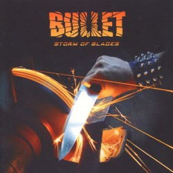 BULLET - Storm Of Blades - LP ( Orange - Limited Edition - Numebered )