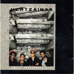 HERTZAINAK - Amets Prefabrikatuak - CD