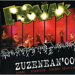 ETSAIAK - Etsaiak Zuzenean'00 - CD