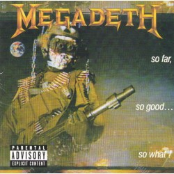 MEGADETH - So Far , So Good ... So What ! - CD