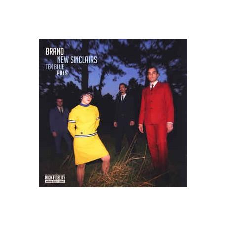 BRAND NEW SINCLAIRS - Ten Blue Pills - CD