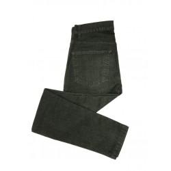 RELCO Pantalones Vaqueros Elásticos NEGRO DEGRADADO
